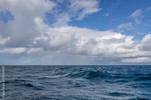l'arc en ciel et la mer © antoine