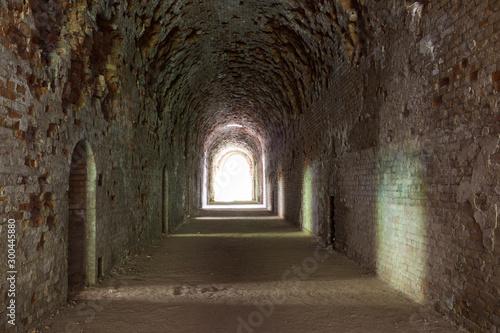 Fotomural Abandoned old fort Tarakanivsky,  Rivne region. Ukraine