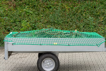 Car Trailer With Net For Load ...