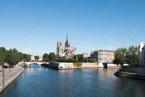 Photo Notre Dame de Paris Pont de l'archevêché