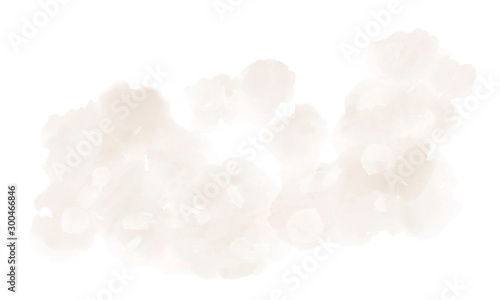 Canvastavla  Watercolor background texture soft beige – Abstract Illustration