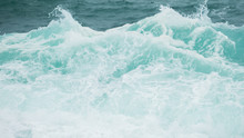 Sea Surf Blue Waves And White ...
