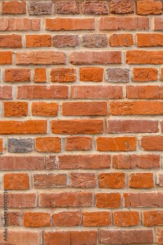 Okleiny na drzwi cegła  bright-textured-red-brick-wall