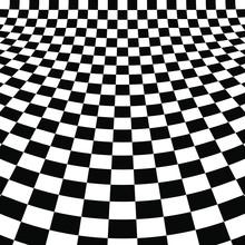 Distorted Checker Board. Abstr...