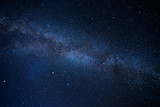 Fototapeta Na sufit - Beautiful colors of milky way on night sky