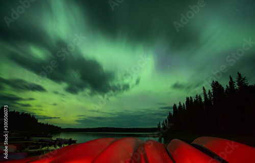 Photo sur Toile Aurore polaire Northern Lights Canada