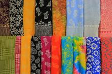 Color Shawls Close-up For Sale