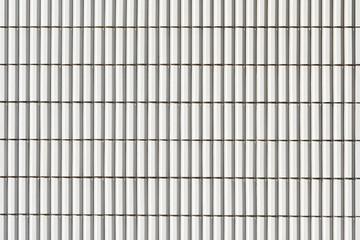 白いタイル壁