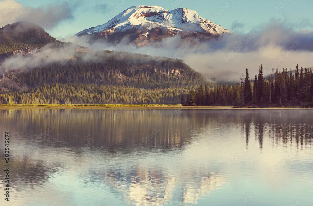 Fototapety, obrazy: Lake in Oregon
