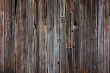 Aged Wood Boards Wall Background. Dark Texture Backdrop