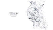 Closeup Of An Abstract Pregnan...