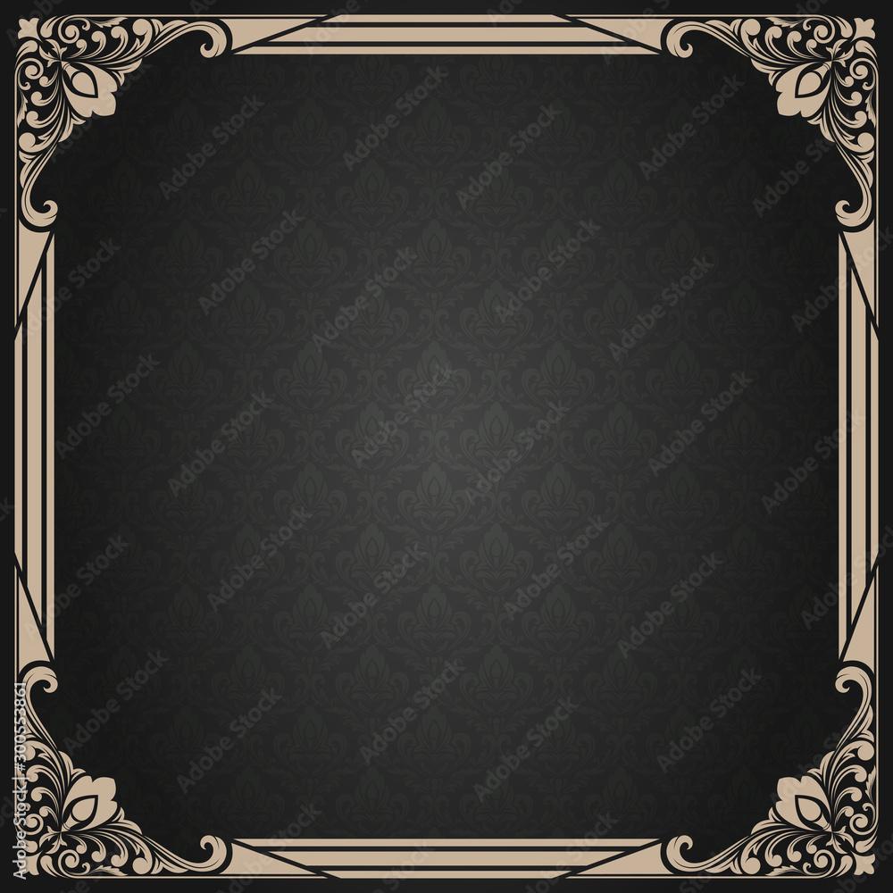 Fototapeta decorative frame