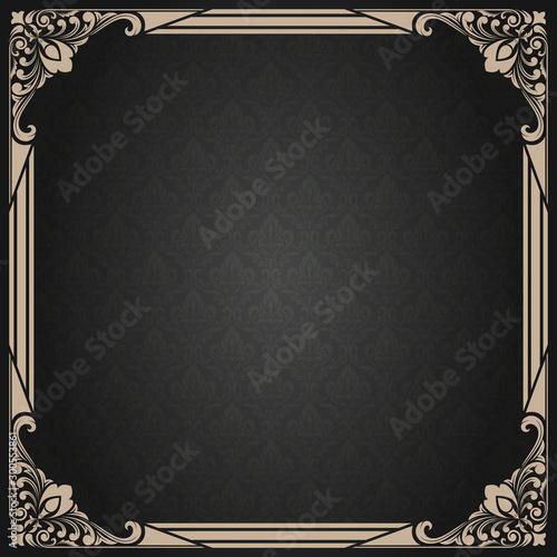 Obraz decorative frame - fototapety do salonu