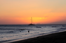 Scenic Sunset From Kamaole Bea...
