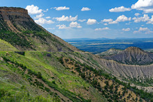 Scenery In Mesa Verde National Park