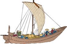 浮世絵 船 その7