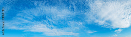 Fotografia, Obraz  Panorama sky with cloud on a sunny day