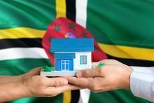 Dominica Real Estate Concept. ...