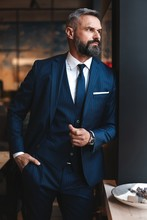 Stylish Bearded Man In A Suit ...