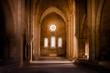 Leinwandbild Motiv Inside deserted Abbey