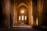 Inside deserted Abbey