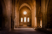 Inside Deserted Abbey