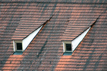 Red Roof With Windows