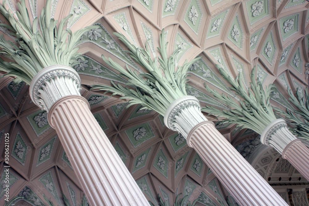 Fototapety, obrazy: Interior of Nikolaikirche Leipzig