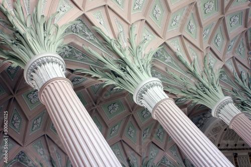 Obraz Interior of Nikolaikirche Leipzig - fototapety do salonu