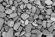 smooth stones texture background. Atlantic pebbles.