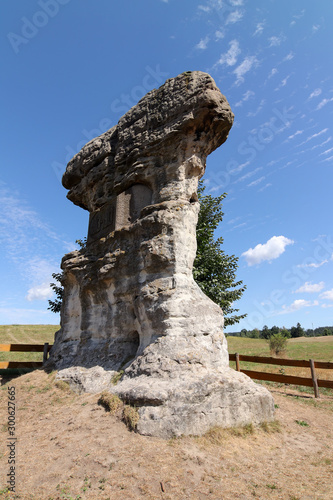 Devil´s Rock - bizarre rock formation, Poland Canvas-taulu