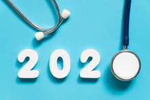 Stethoscope W/ 2020 Number On ...
