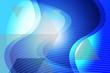 canvas print picture - abstract, blue, wave, design, wallpaper, light, illustration, texture, curve, pattern, backgrounds, art, graphic, lines, digital, motion, backdrop, technology, color, waves, line, futuristic, shape