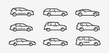 Cars Icon Set. Transport, Tran...