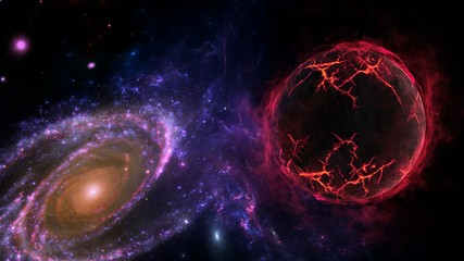 lanets and galaxy, science fiction wallpaper. Astronomy is the scientific study of the universe stars, planets, galaxies, and everything in between