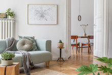 Stylish Scandinavian Living Ro...
