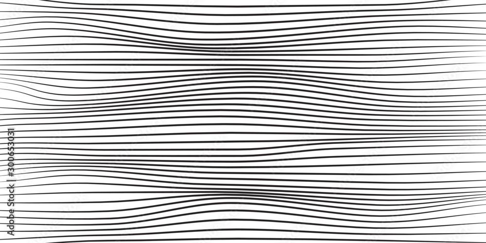 Fototapeta Abstract linear vector background.