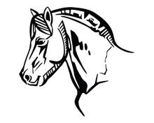 Vector Horse Portrait 2