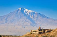 Monastery Chor Virap, Armenia, Asia