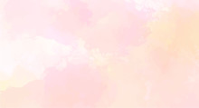 Pink Watercolor Background For...