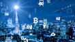 VR 5G AI 人工知能 フィンテック Fintech MaaS ICT ブロックチェーン 3D
