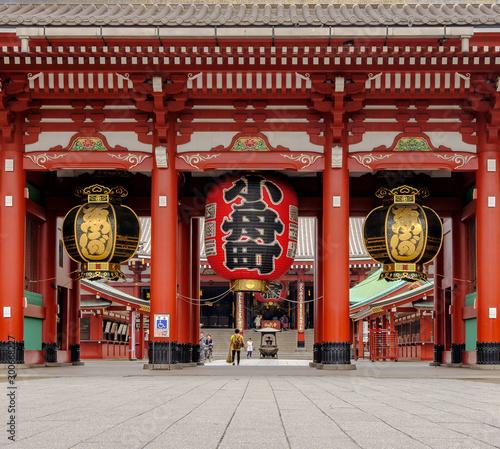 Photo Entrance of Sensoji Temple
