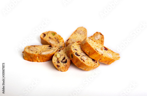 Сookies on a white isolated background