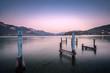 Abend am Lac d'Annecy, Frankreich