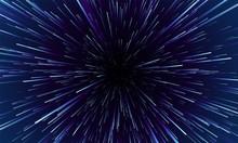 Star Warp. Hyperspace Jump, Tr...