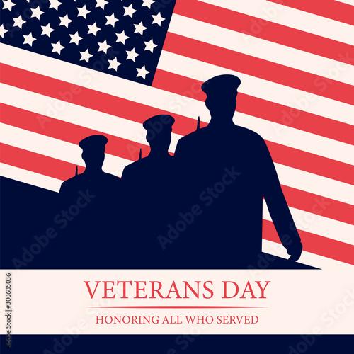 Fototapeta Veterans Day. 11th of November.