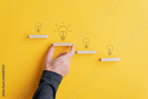 Fotomural Creativity and idea concept