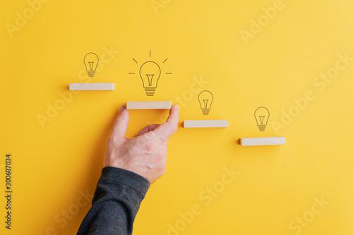 Fotografie, Obraz Creativity and idea concept