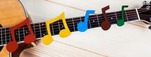 Music And Guitar Panorama - Mu...