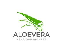 Aloe Vera Plant Logo Design. H...